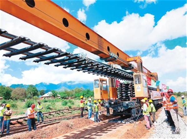 我在東非修鐵路